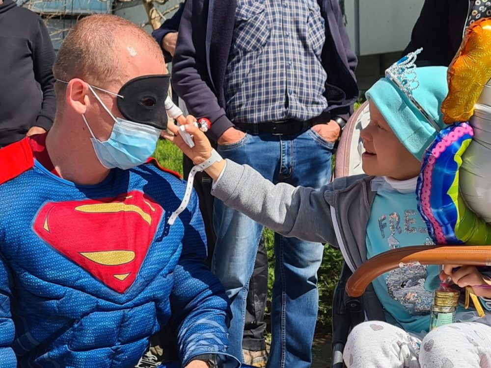 """גיבורי על אמיתיים (צילום: הקריה הרפואית רמב""""ם)"""