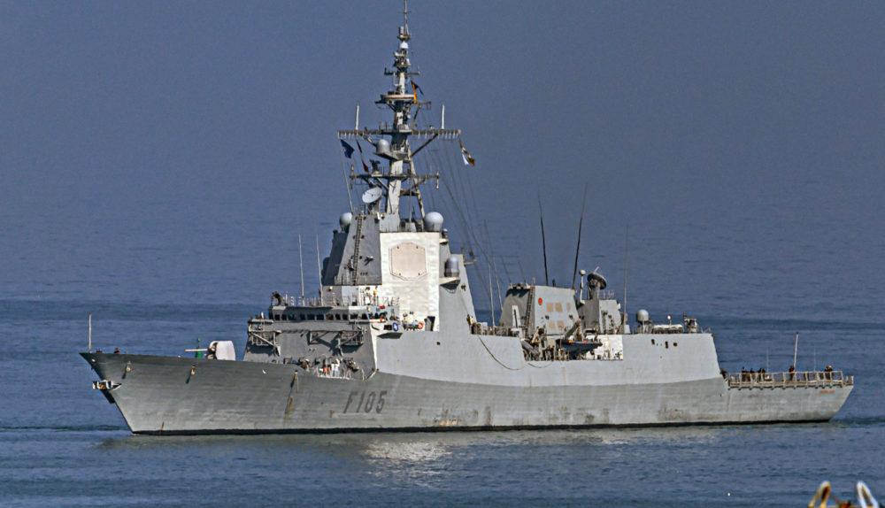 אונית קרב ספרדית בחיפה (צילום: אנתוני הרשקו)