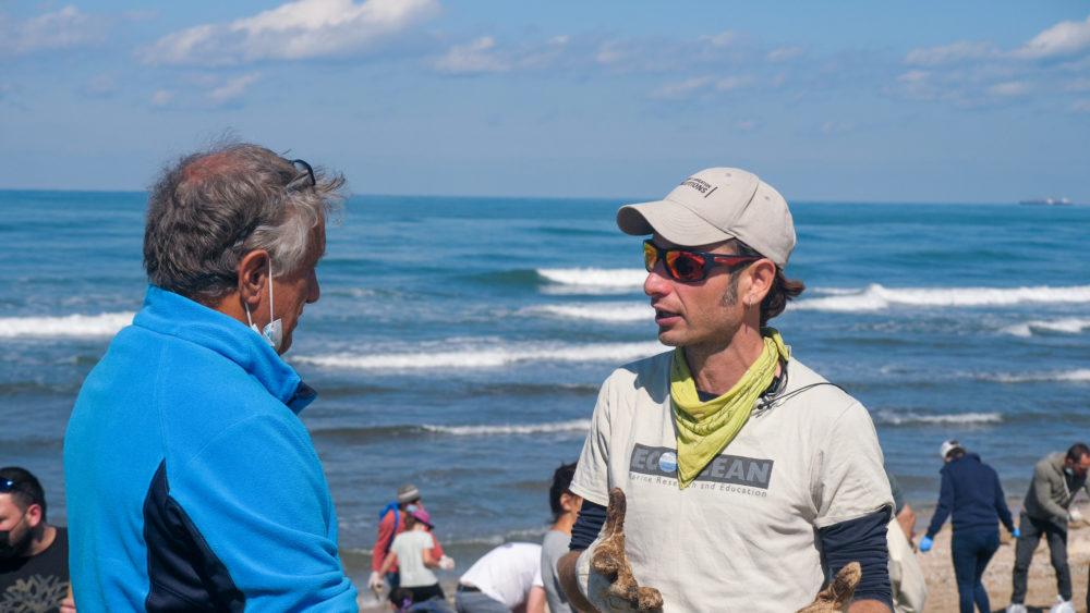 פיליפ נמוי, אקולוג ימי מהמכון לחקר ימים ואגמים (צילום: גל הכהן)