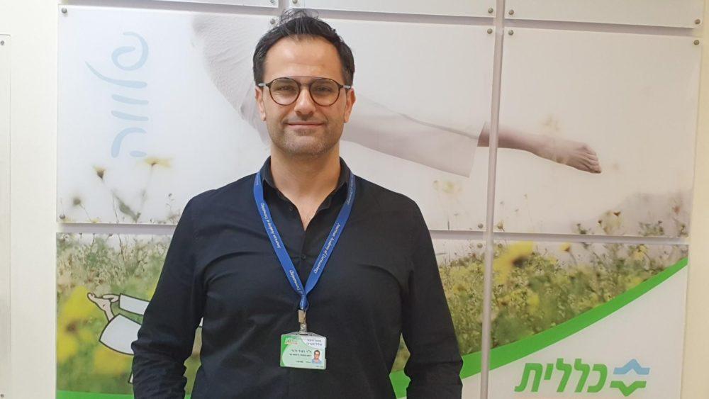 """ד""""ר ראיד חורי, מומחה רפואת עור (צילום: דוברות כללית)"""