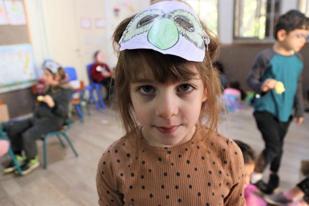 דניאלה בת החמש וחודש (צילום: עומר מוזר)