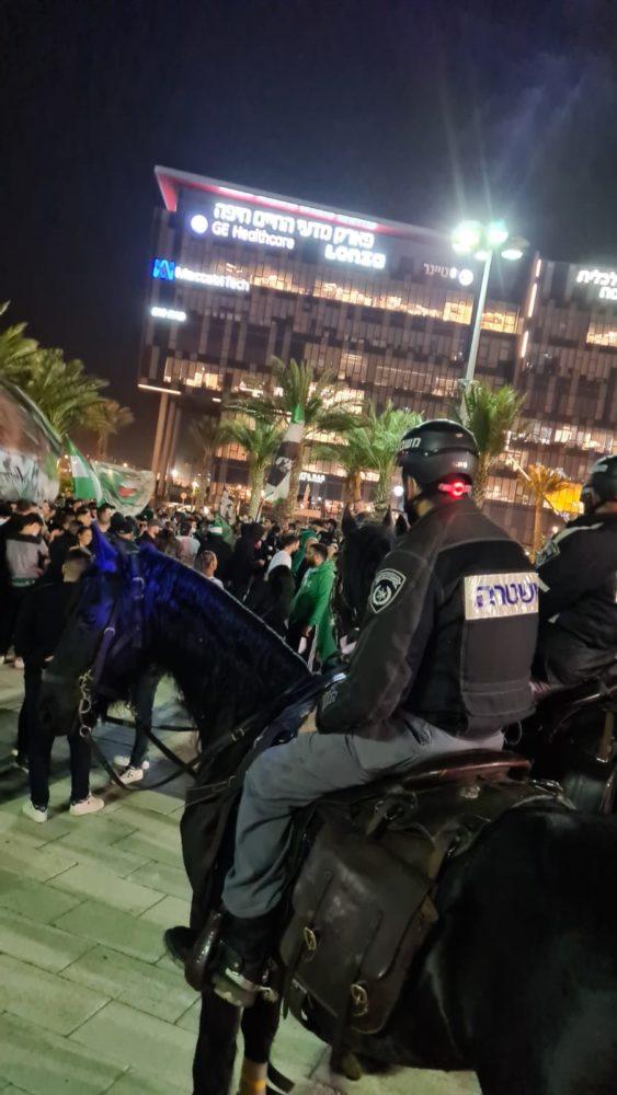 אלימות בסמי עופר (צילום: משטרת ישראל)