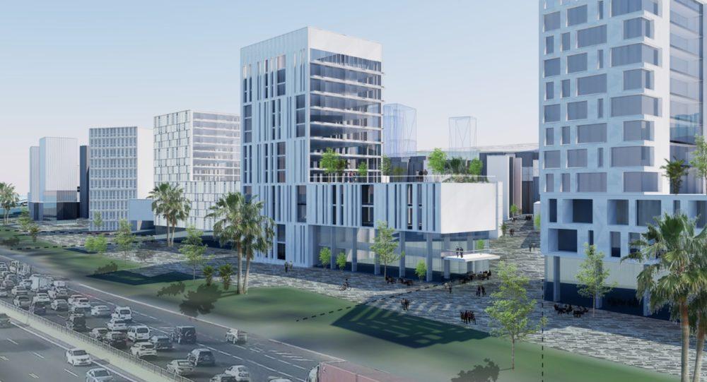 שכונות החוף - הדמיות: משרד אירית צרף נתניהו – אדריכלות ובינוי ערים