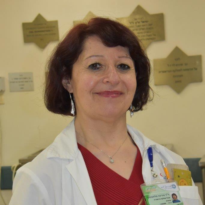"""מנהלת המחלקה ד""""ר אירינה מלחובסקי (צילום: אלי דדון)"""