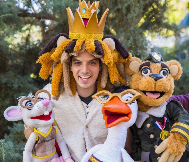 האריה והעכבר (צילום: פסטיבל הצגות ילדים)