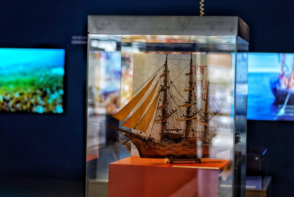המוזיאון הימי הלאומי (צילום: ג'ני כצנר)
