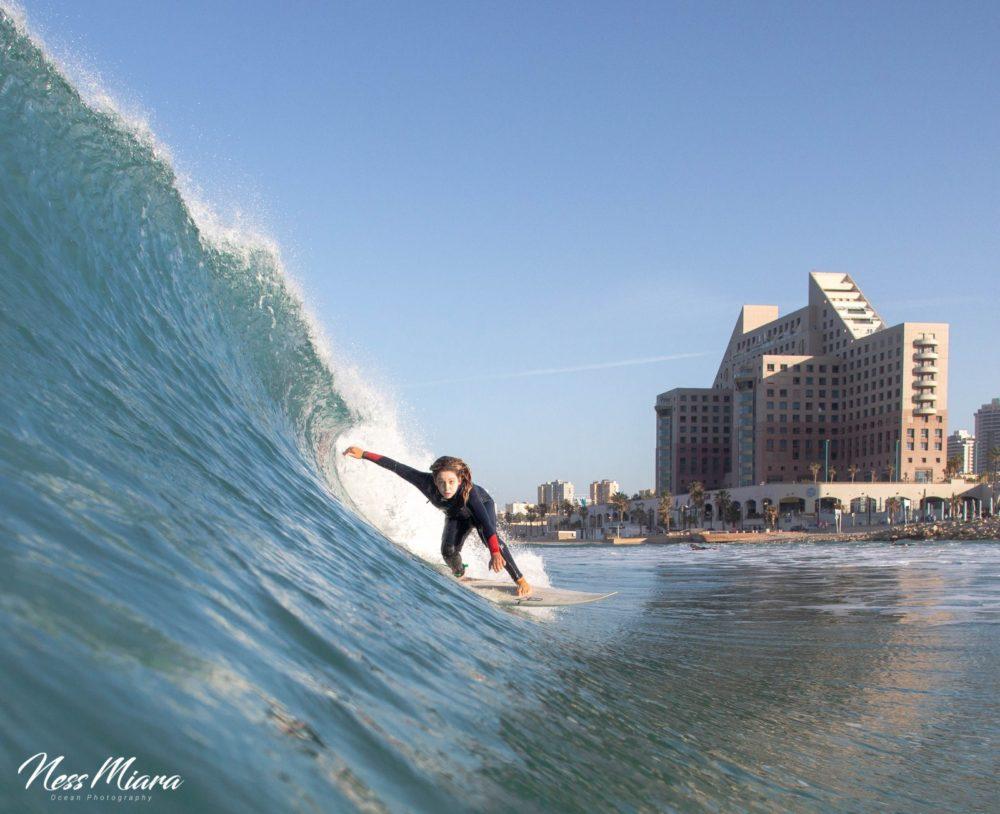 תחרות גלישה בחיפה (צילום: נס מיארה)