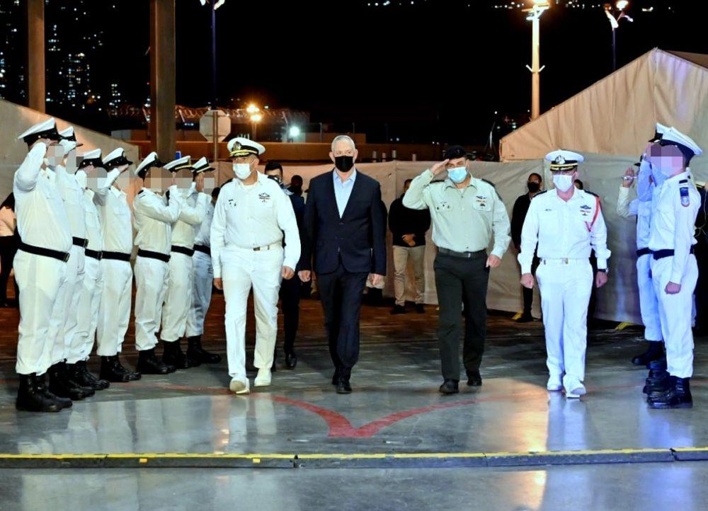 טקס סיום קורס חובלים (צילום: אריאל חרמוני, משרד הביטחון)