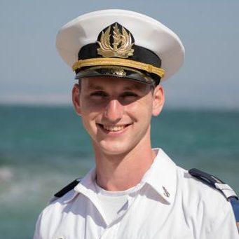 """סגן גלעד רז (צילום: דובר צה""""ל)"""