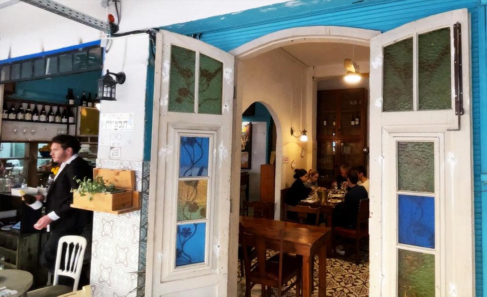 מסעדת תלפיות בשוק תלפיות בחיפה (צילום: ירון כרמי)