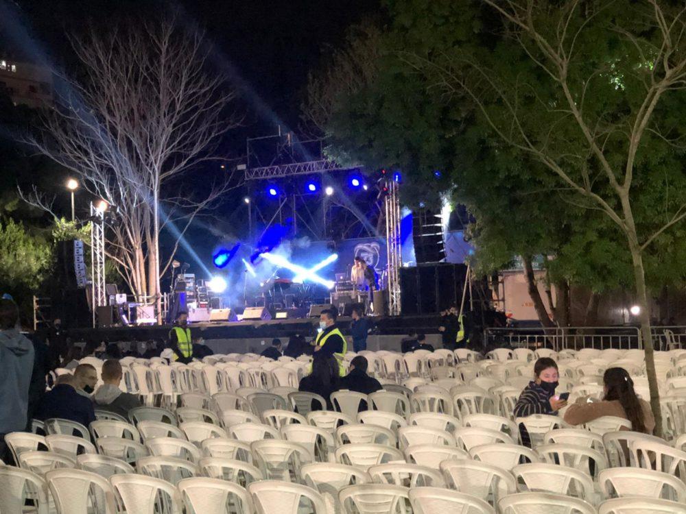 אירוע סגור ביום העצמאות בחיפה - הספורטק (צילום: מתן כרמי)
