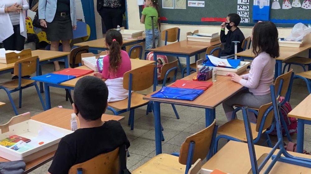 חזרה ללימודים בצל הקורונה (צילום: ראובן כהן)