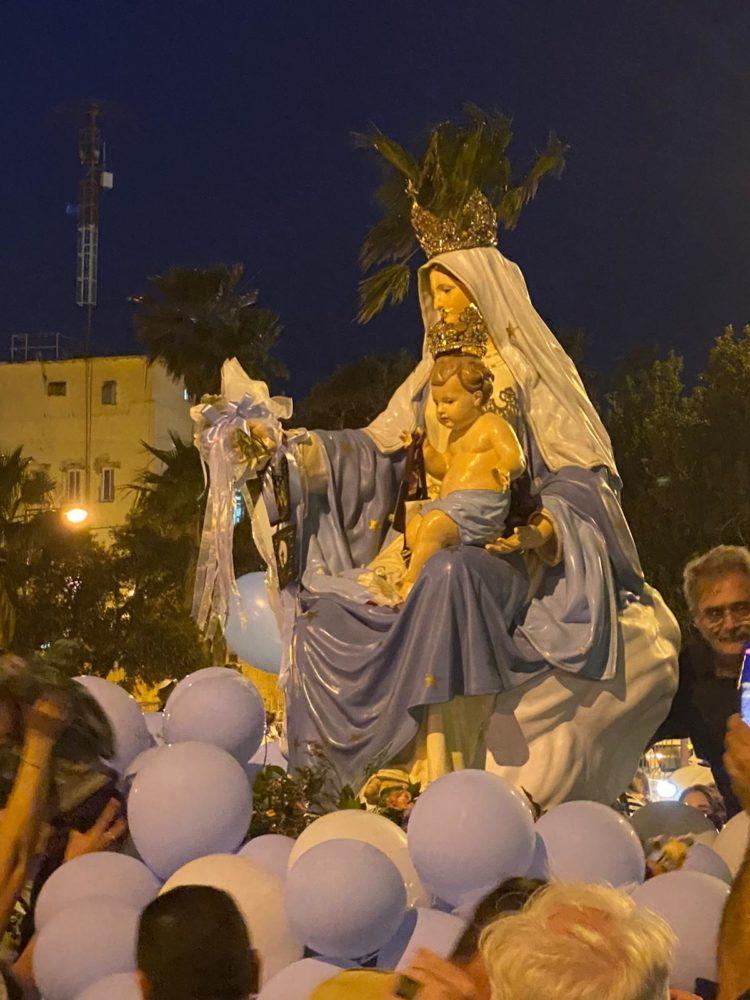תהלוכת מריה הקדושה (צילום: חנא נחאס)