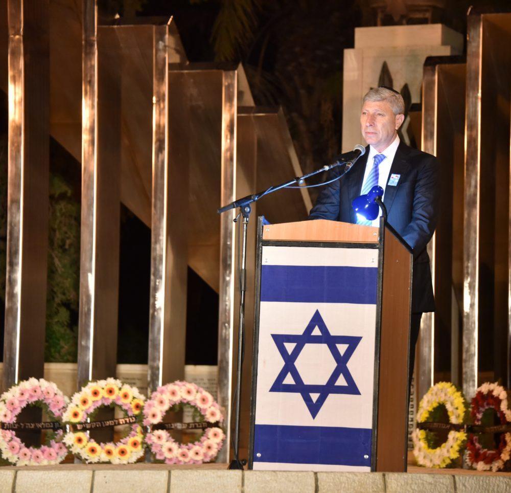 יום הזיכרון לחללי מערכות ישראל (צילום: עיריית קריית אתא)