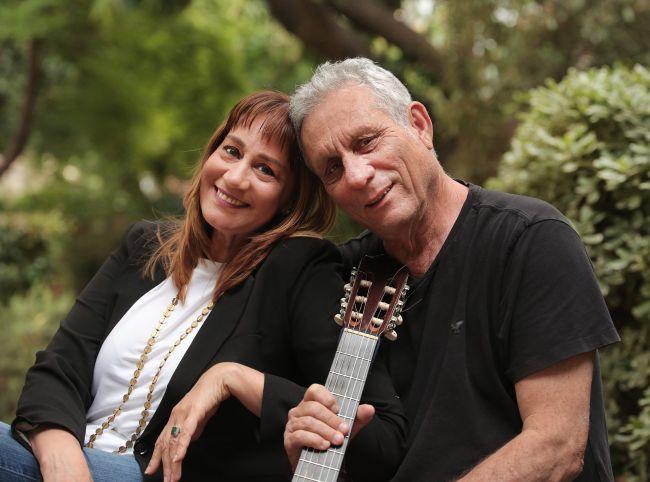 מיקי קם ויהודה עדר, אהבה בת 20+ (צילום: תאטרון חיפה)