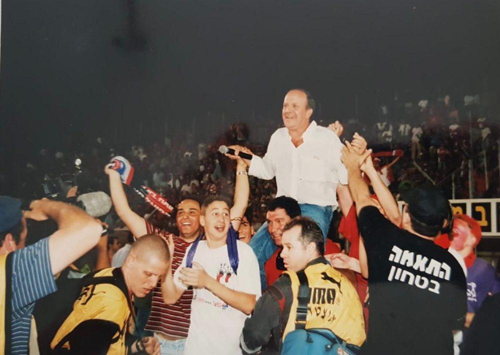 """רובי שפירא ז""""ל (צילום ארכיון: ראובן כהן, דוברות עיריית חיפה)"""