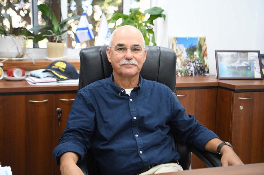 נחשון צוק (צילום: ראובן כהן דוברות עיריית חיפה)