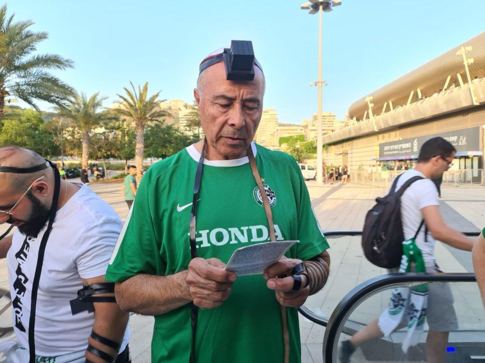 מילה אחרונה לפני המשחק הגורלי בין מכבי חיפה להפועל באר שבע (צילום: אלברט עם שלם)
