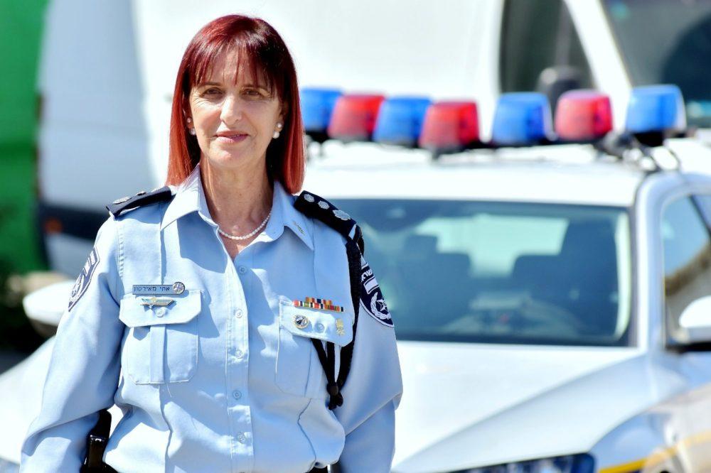 אתי מאירסון (צילום: דוברות המשטרה)