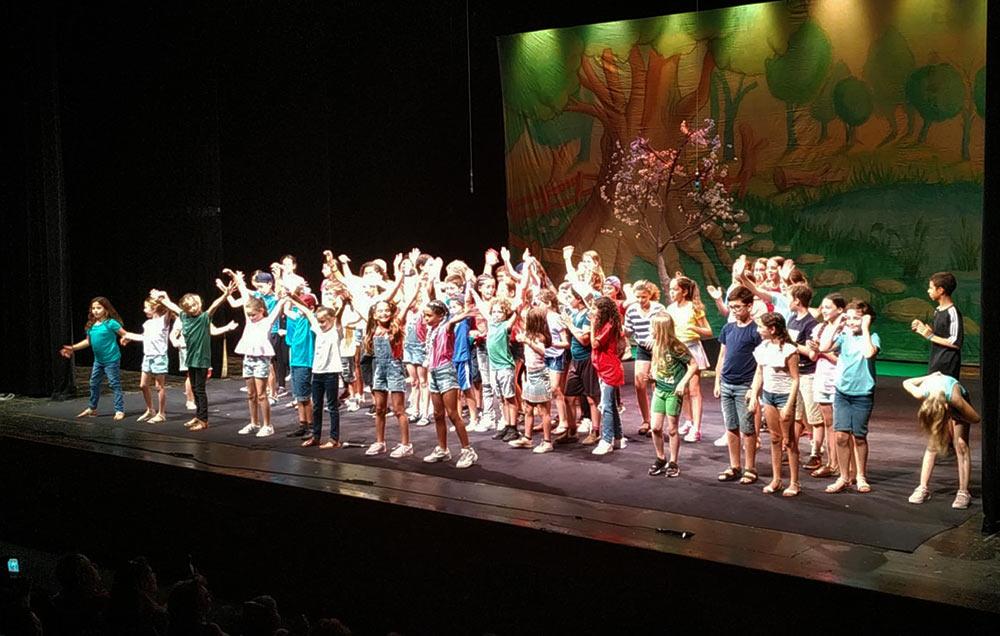 קייטנת תיאטרון ואמנות פלסטית המצליחה של תיאטרון חיפה (צילום: תאטרון חיפה)
