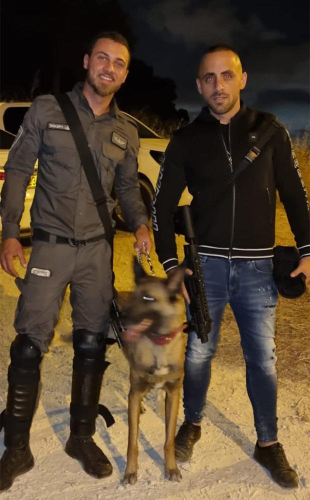 """מוריאל מזרחי בשטח - """"מלאכי כוחות הביטחון"""" אוספים מזון איכותי בחיפה ומכינים פריסה לשוטרים במוקדי המהומות בשטח (אלבום אישי)"""