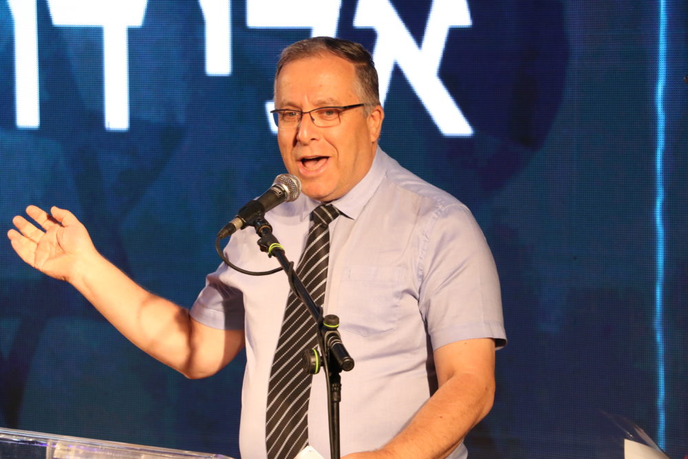 ראש העיר דוקורסקי (צילום: רוני כרמלי)