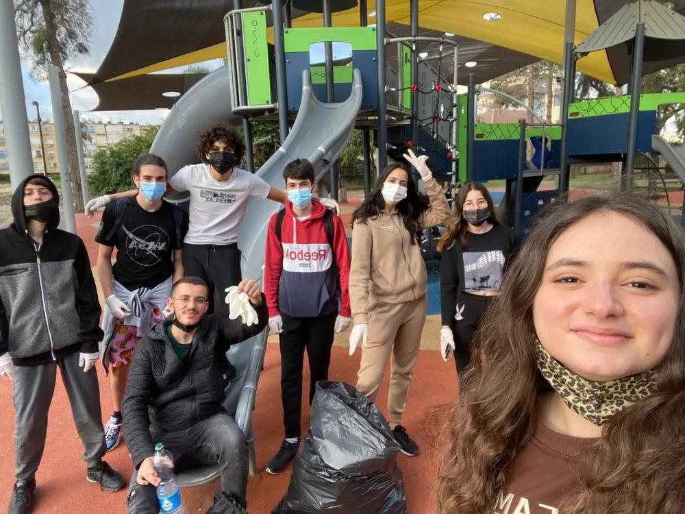 הקבוצה הירוקה (צילום: עיריית קריית אתא)