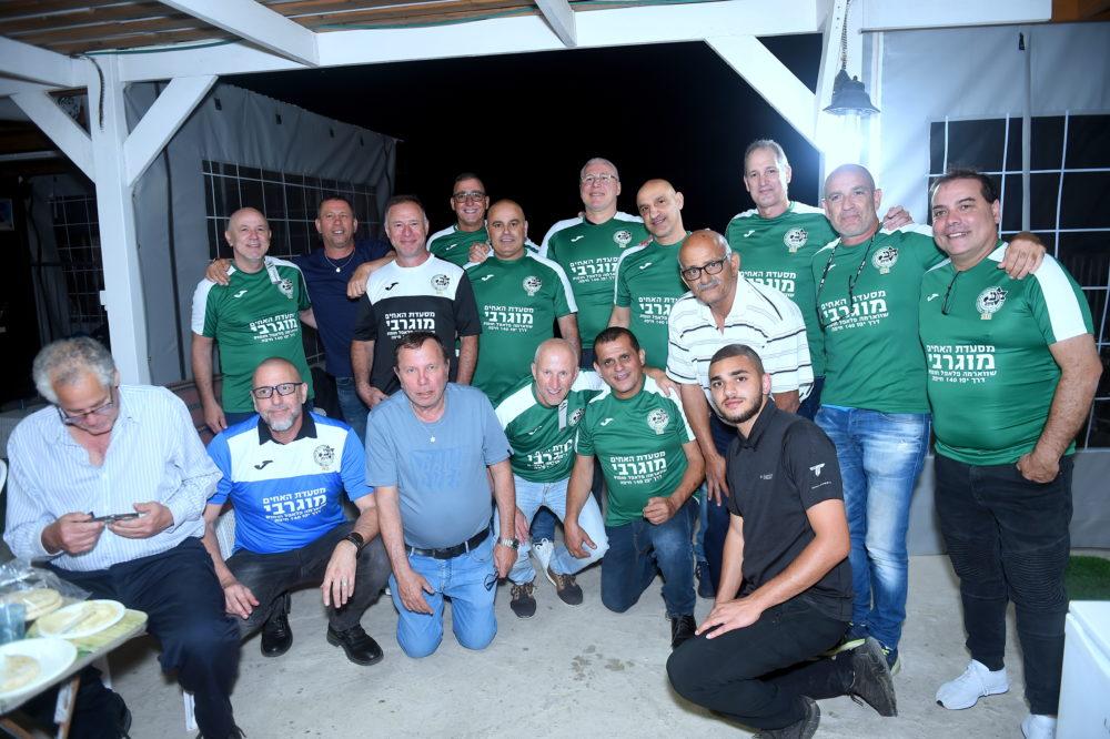 מפגש נוסטלגי • נוער מכבי חיפה, שנתון 65-67 (צילום: יוסף הירש)