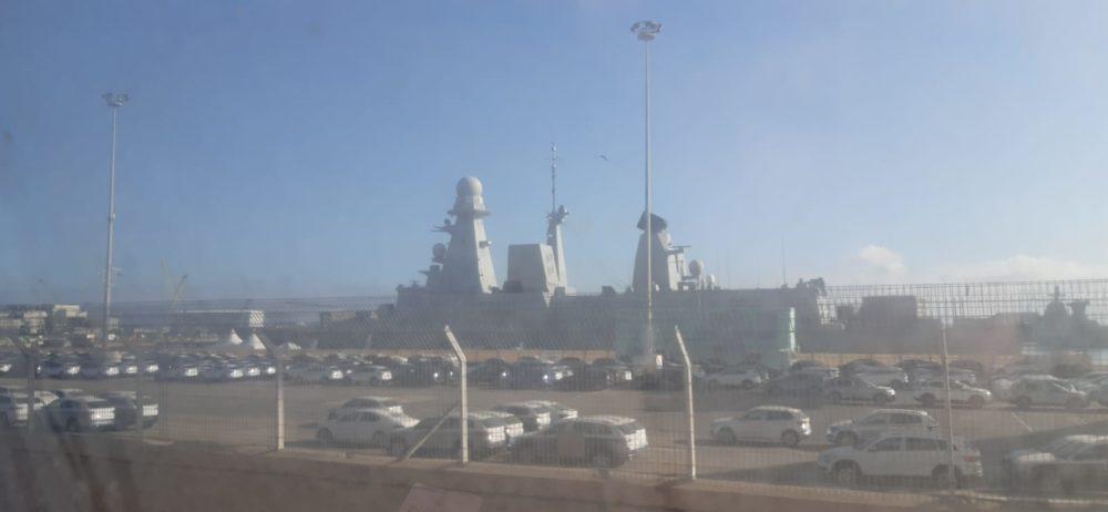 הספינה שבלייה פול עוגנת בחיפה (צילום: חי פה בשטח)