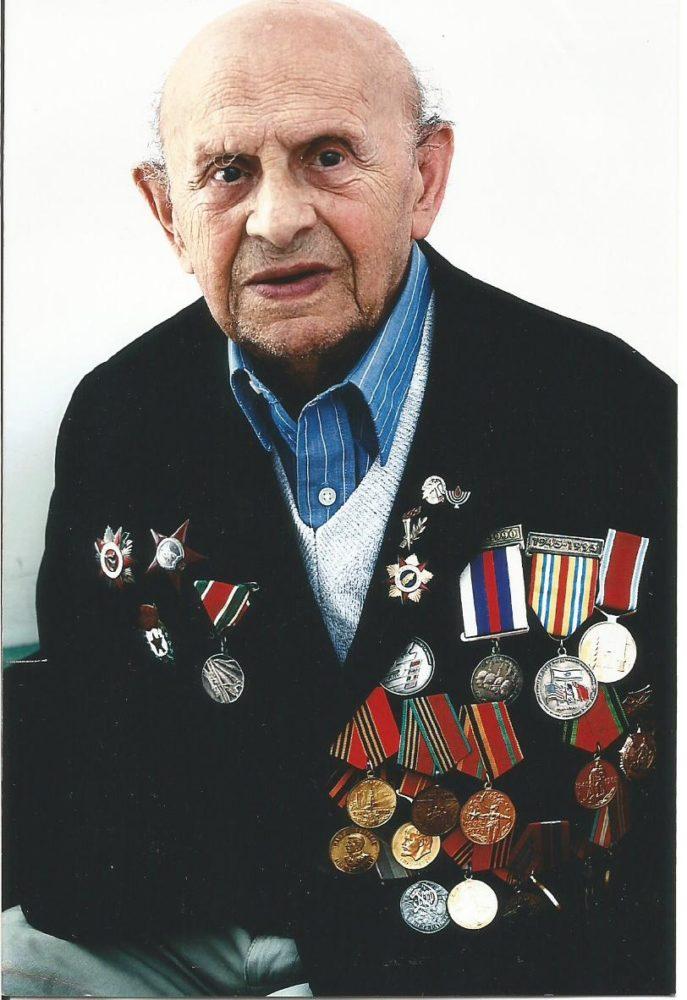 סמיון קנר, וטרן בן 108 (צילום: באדיבות אתר haifainfo.ru)