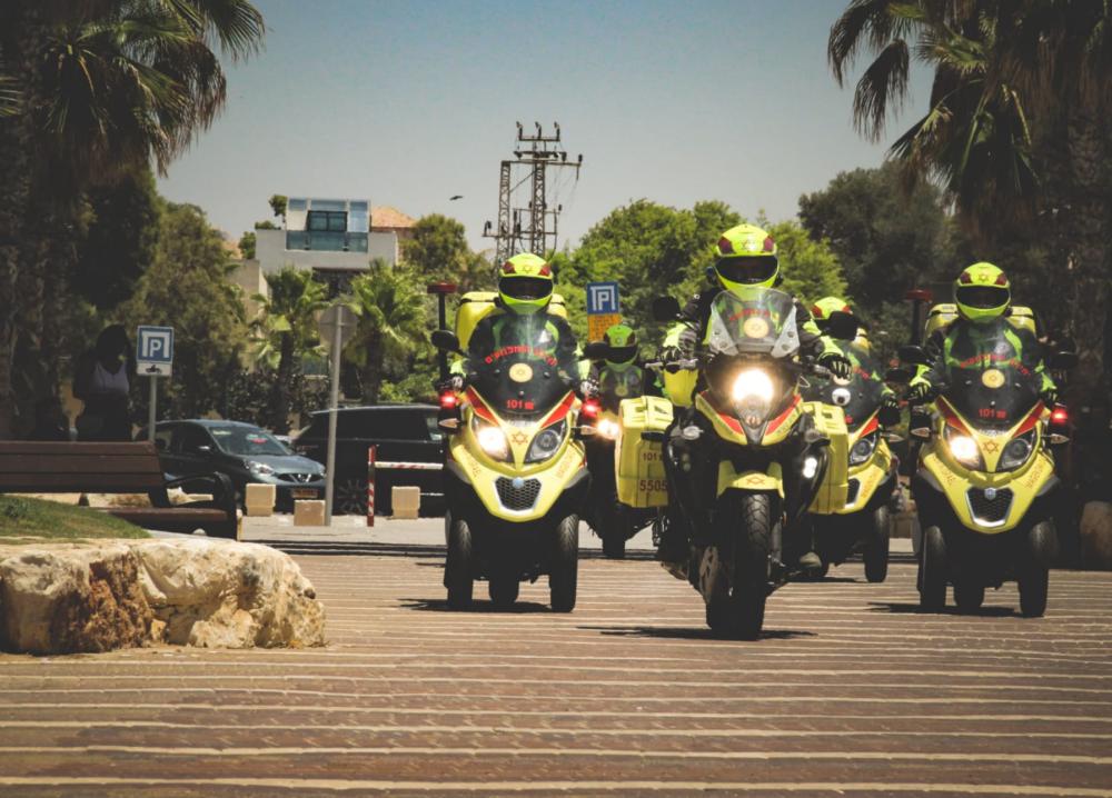 אופנועי מדא (צילום: מדא)