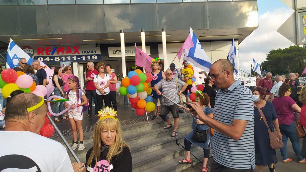 מחאה נגד בנימין נתניהו (צילום: שקד ברויר)