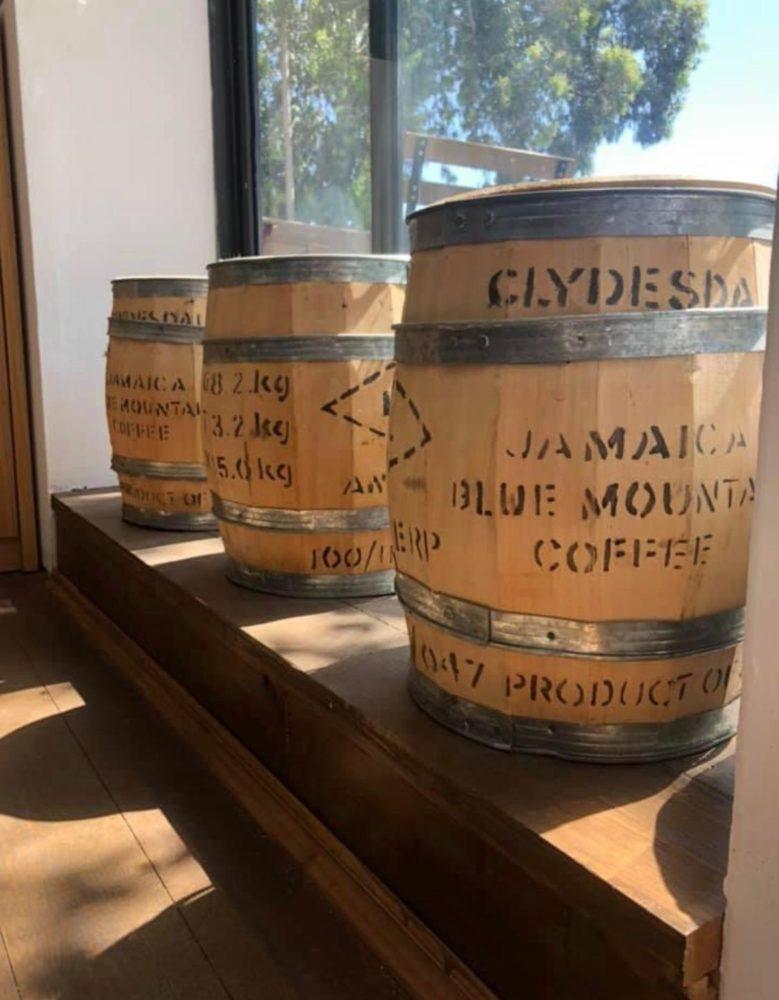 חביות קפה מג'מייקה - בז'רנו קפה