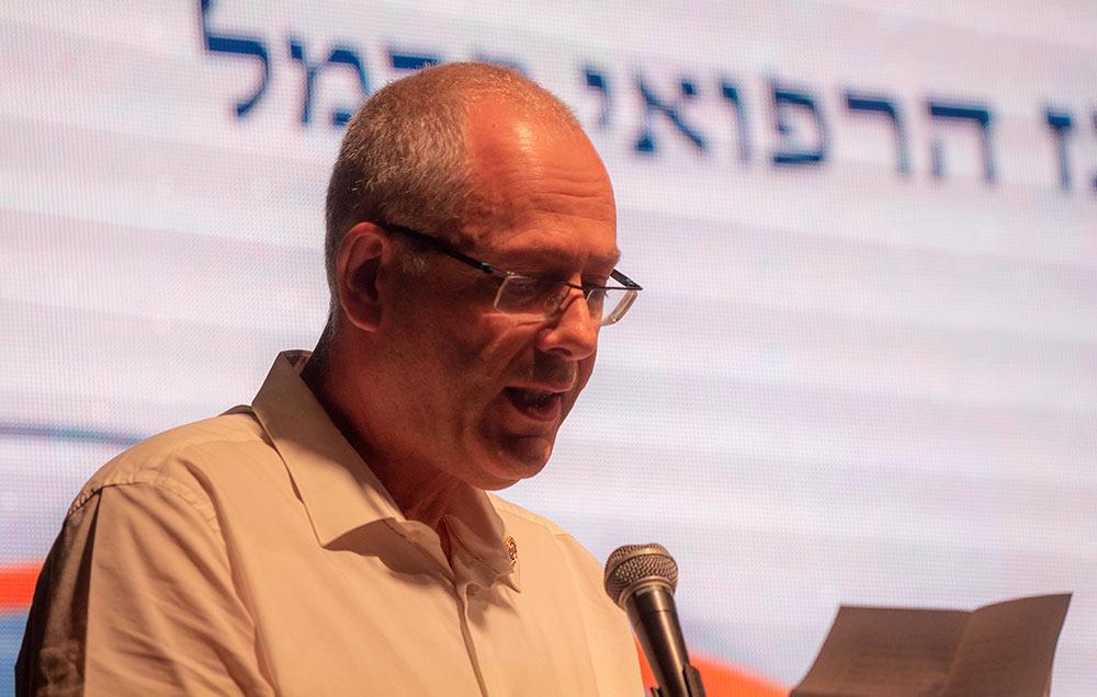 """ד""""ר אבי גולדברג, מנהל המרכז הרפואי כרמל (צילום: ירון כרמי)"""