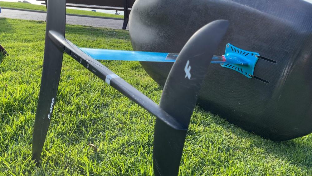 כנף תת מימית - ווינג סרף - Wing Surf • ענף גלישה חדש ומסקרן בחופי חיפה (צילום: ירון כרמי)