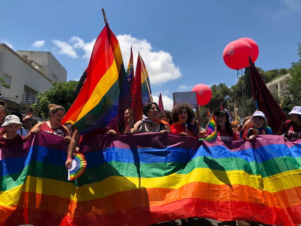 מצעד הגאווה 2021 (צילום: עדן קליימן)