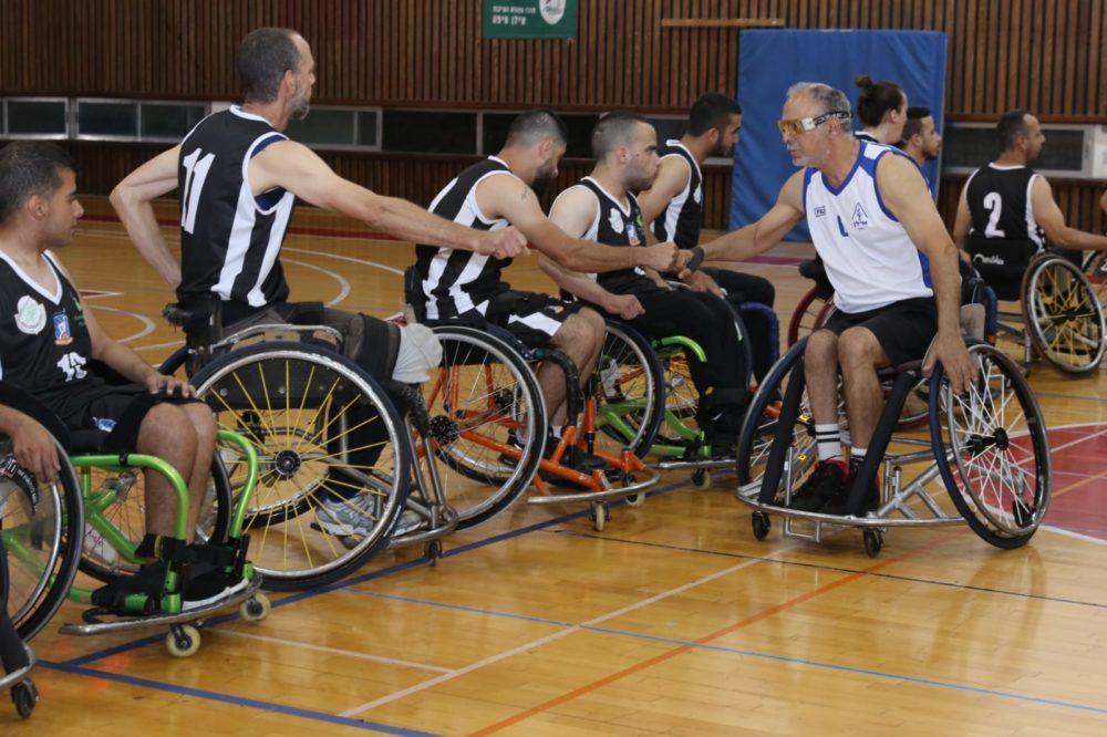 אליפות ליגה לאומית ב׳ בכדורסל נכים (צילום: דוד וולטמן)