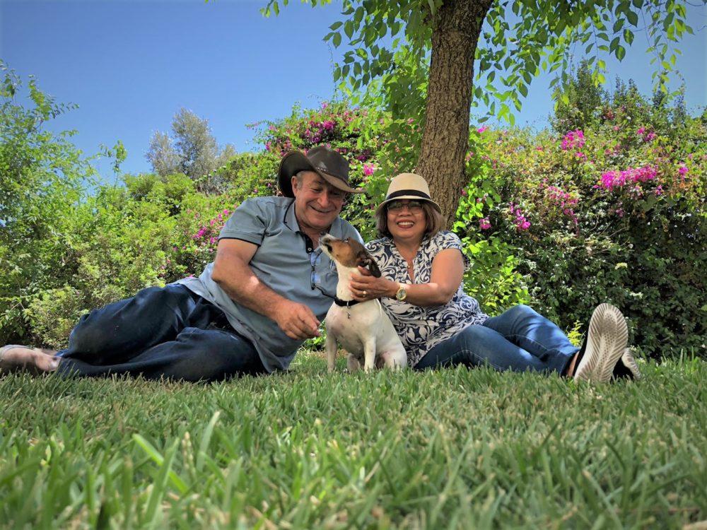 מרי, שמואל ולונה ברנשטיין (צילום: עשן קליימן)