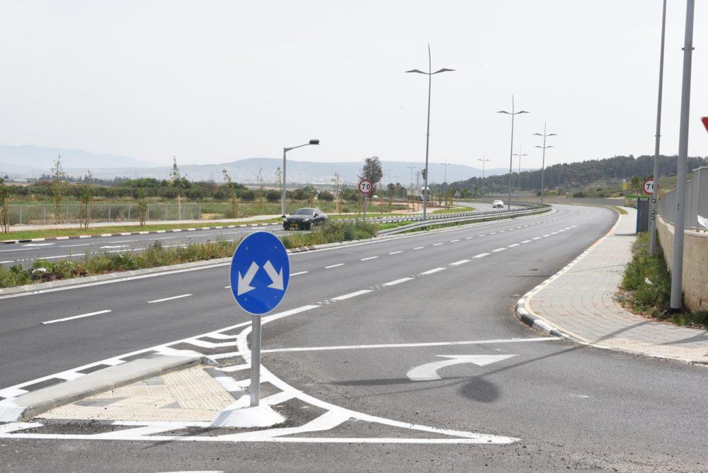 כביש 781 (צילום: דוברות קרית אתא)