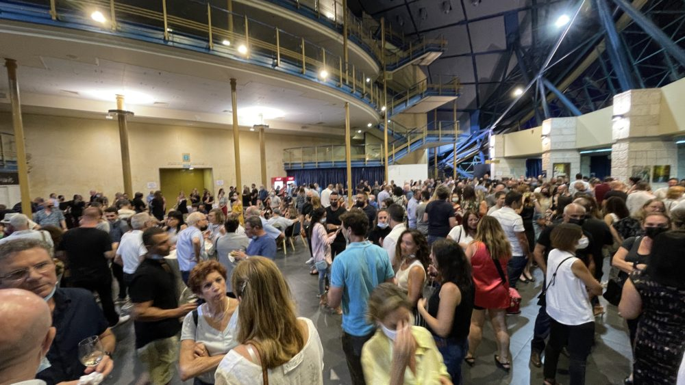 קבלת הפנים - שולחן עגול 3 חיפה - ערב גאלה שנתי (צילום: ירון כרמי)