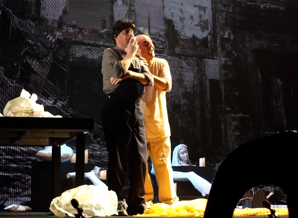 האופרה 'טוסקה' באודיטוריום חיפה (צילום: ירון כרמי - חי פה)