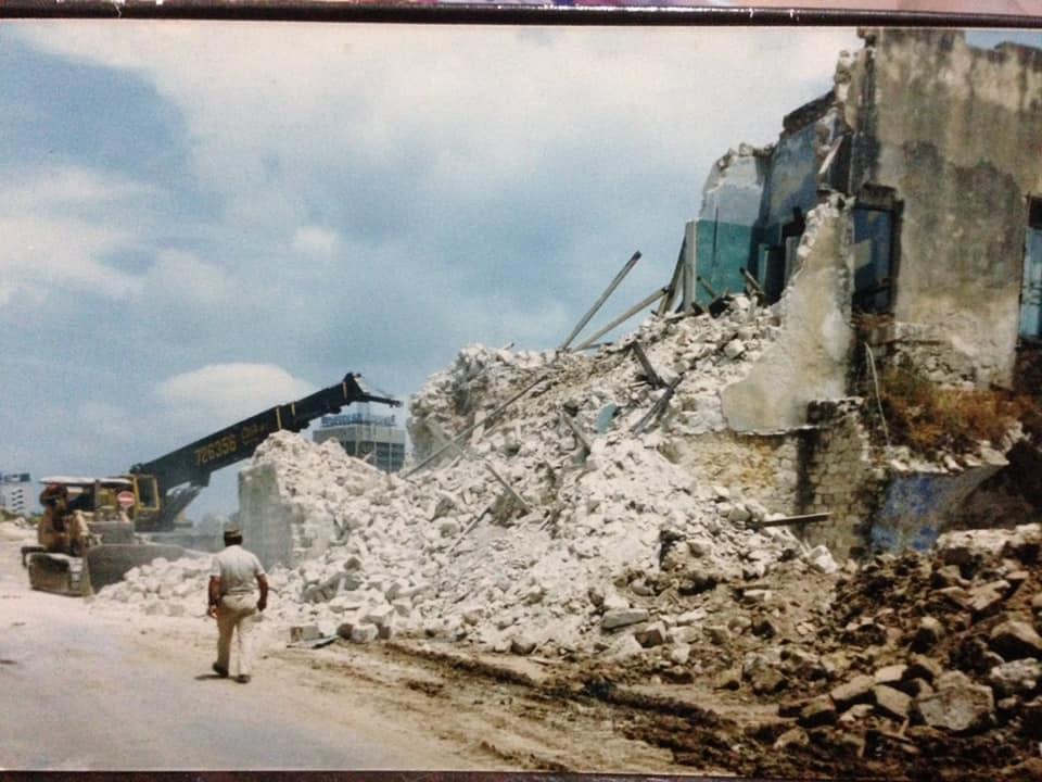 הריסת מבנים בואדי סאליב (צילום: אלי פדידה)