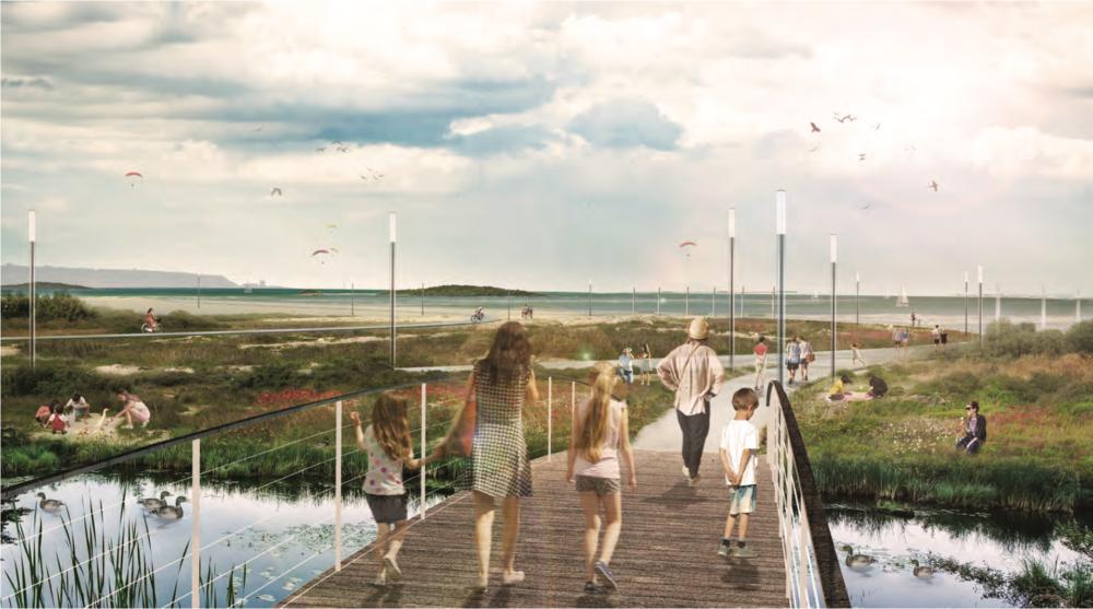 הצעה לרצועת החוף (צילום: אתר העירייה)