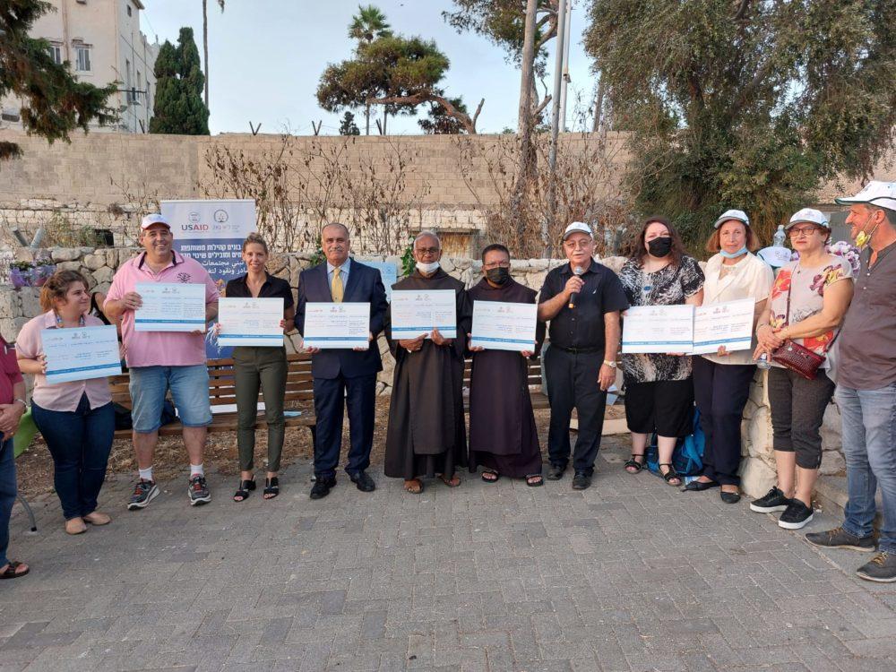 שביל סטלה מאריס אליהו הנביא בחיפה (צילום: דנה כהן)