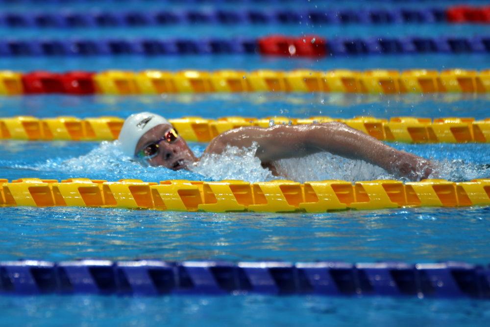 מארק מליאר בדרך לשיא עולם ומדליה נוספים (צילום: קרן איזקסון)