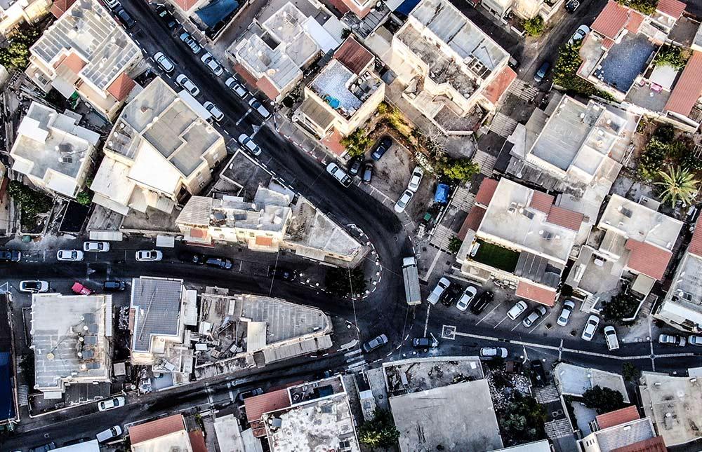 חיפה - הדר הכרמל (צילום: מרום בן אריה)